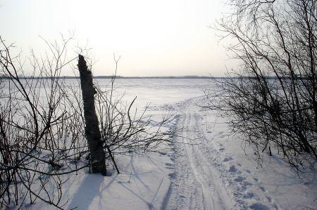 Kalli järv, võimalus otsetee