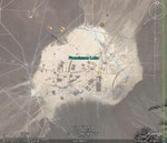 Nevada tuumapolügooni katsejaamad.