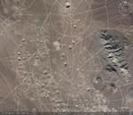 Aatomiplahvatuste katsepolügoon, kraatrid.