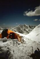 Kolmandas laagris, 6100 m.