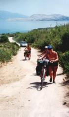 jalgrattamatk Horvaatias.
