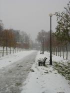 Russalka promenaadil 25. oktoobril.