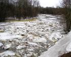 Pirita jõgi, märts 2004.