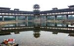 Pikim kattega sild Hiinas