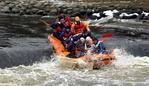 Rafting Pirita jõel 2006
